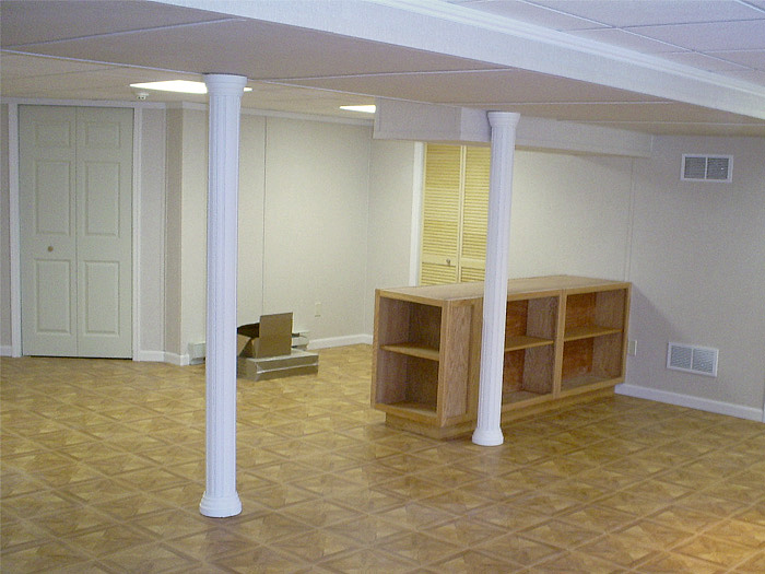 finished basement touches in st louis springfield st