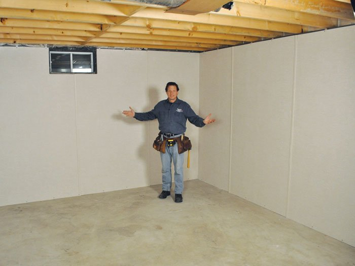 Insulated basement wall panels greater st louis - How to finish a basement ...